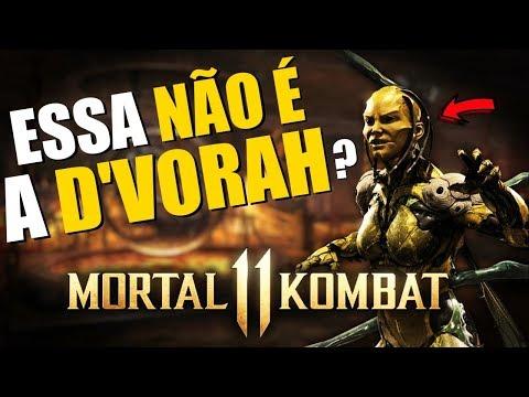 OUTRA D'VORAH EM MORTAL KOMBAT 11? & RESIDENT EVIL NA NETFLIX thumbnail
