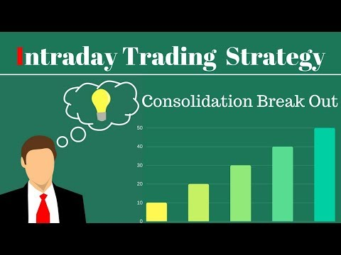 Simple Intraday Trading Strategy :-Consolidation  Range Break Out