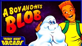 A Boy and His Blob - NES Game Review | Friday Night Arcade