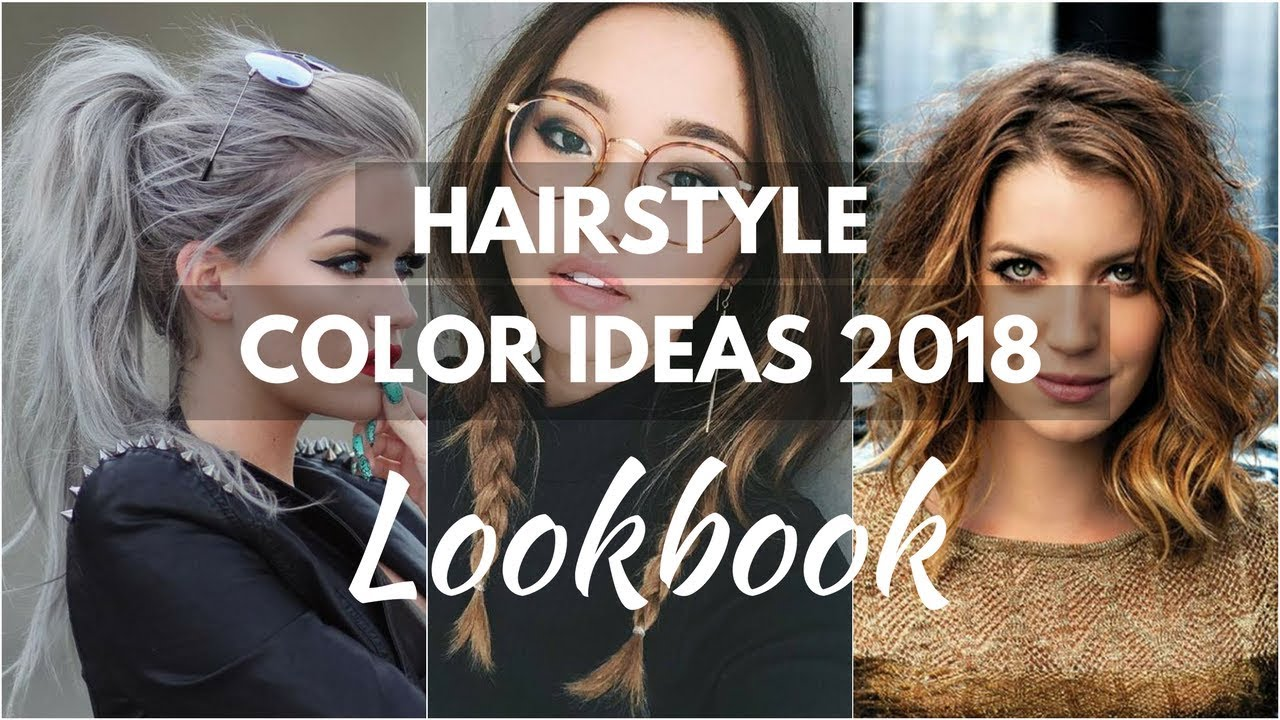 Fall 2017 Winter 2018 Hair Trends Hair Color Ideas Lookbook