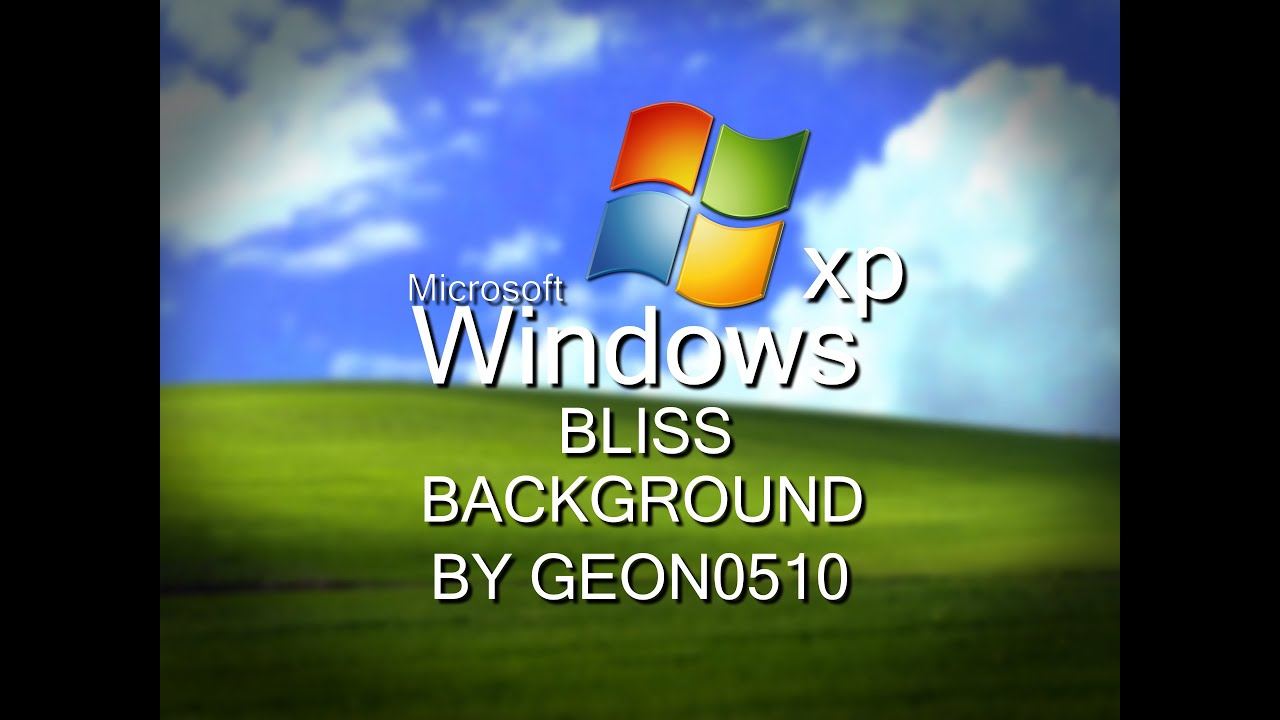 Windows Xp Bliss Backgroundfree To Use
