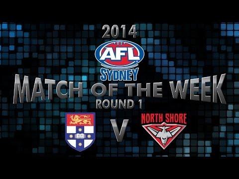 2014 AFL Sydney Round 1 - Sydney University v North Shore