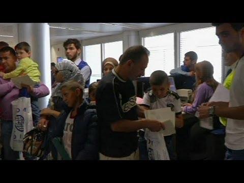alemania:-llega-primer-grupo-de-refugiados-sirios-del-total-de-5.000
