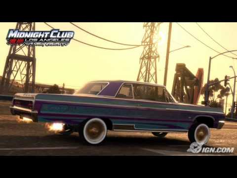 Midnight Club Los Angeles - South central - Rollin Down The Freeway