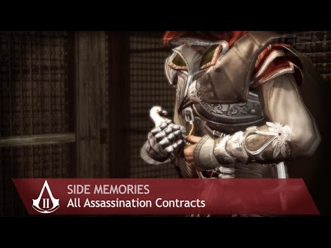 Assassin's Creed 2 - Side Memories - All Assassination Contracts
