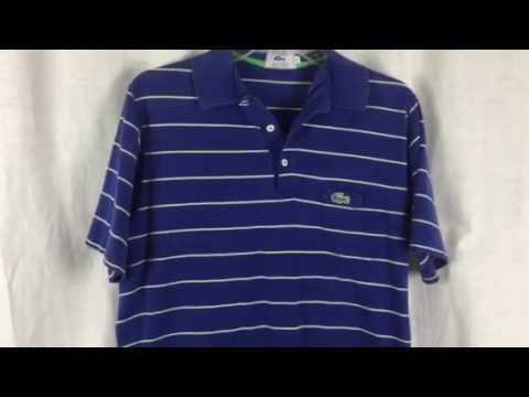 Izod Lacoste vintage polo shirt 1970's I found at an estate sale.
