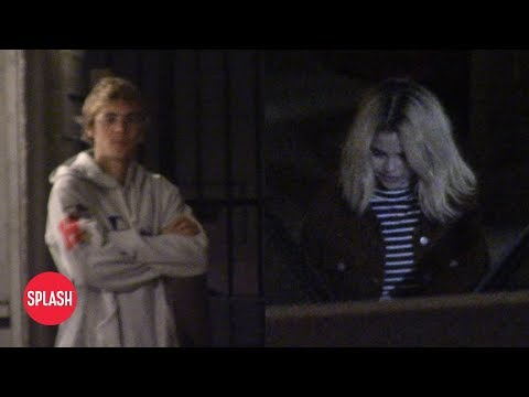 Justin Bieber and Selena Gomez Have Another Church Date | Daily Celebrity News | Splash TV