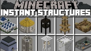 Minecraft INSTANT STRUCTURES MOD / EP. 2 LORD OF THE RINGS EDITION!! Minecraft