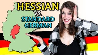 HESSIAN vs. STANDARD GERMAN - Me speaking Hessian