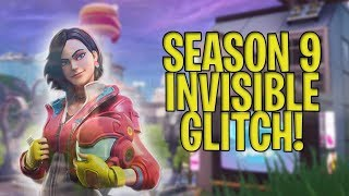 Fortnite Season 9 *INVISIBLE* God Mode Glitch ! EASY !