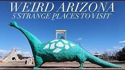 Weird Arizona 5 Strange Places to Visit on a Trip to the Arizona Desert