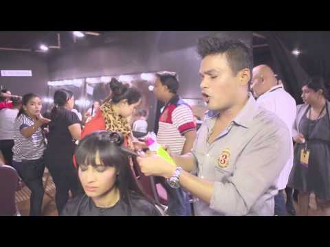 backstage-with-clint-fernandes:-bedhead-@-lfw-s/r-14:-female-look-for-tarun-tahiliani