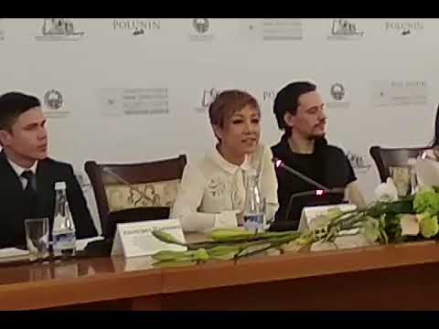 """Пресс-конференция перед ташкентской премьерой  балета """"Распутин"""""""
