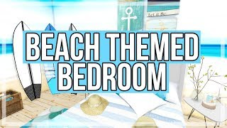 The Sims 4: Room Build    Beach Themed Bedroom
