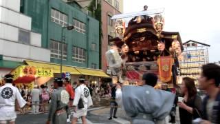 2013年7月22日(月)、埼玉県熊谷の「熊谷うちわ祭」を見に行っ...