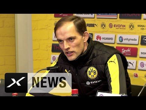 Thomas Tuchel über Weidenfeller, Schürrle und Subotic | Borussia Dortmund - 1. FC Köln