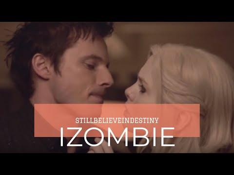 iZombie 1x07Awkward kiss!