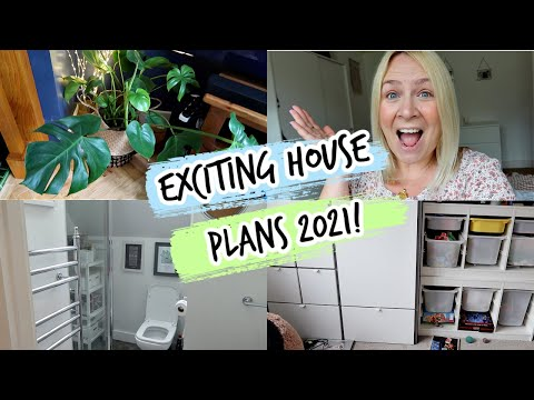 EXCITING HOUSE PLANS FOR 2021   Weekly Vlog