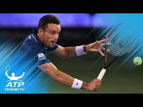 Bautista-Agut beats Pouille for maiden ATP 500 title | Dubai 2018 Final highlights