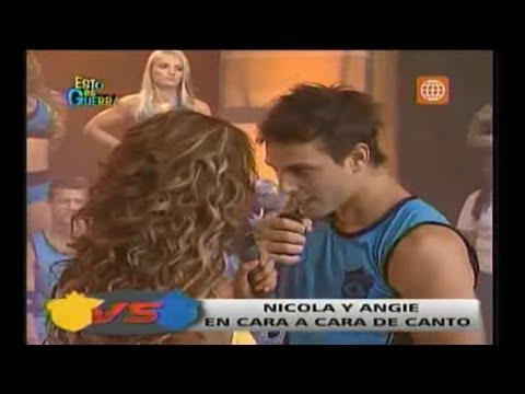 Esto es Guerra: Nicola y Angie se 'cantaron' sus verdades - 01/04/2013