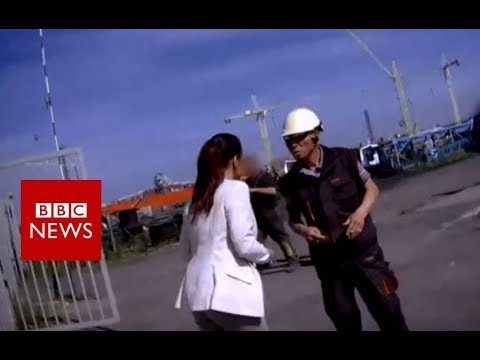 North Korea's secret slave gangs - BBC News
