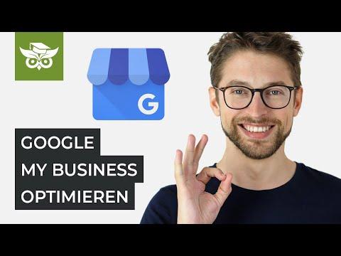 Google My Business Tutorial Deutsch: Eintrag Optimieren Leicht Gemacht