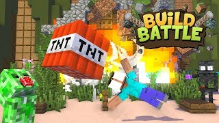 Monster School : Build Battle Challenge - Minecraft Animation