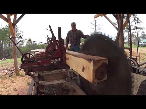 1964 Frick 0 Sawmill   Milling Sweetgum and Southern Pine