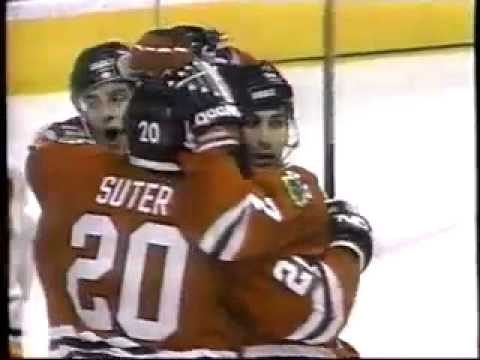 Chicago Blackhawks 1994-95 Season Video Part 1