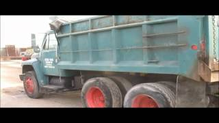 1986 International F1954 dump truck for sale | sold at auction February 26, 2015