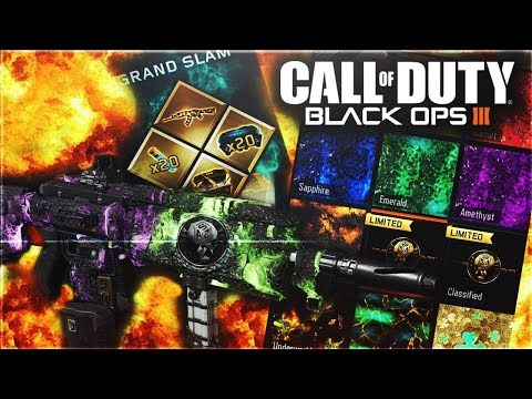 "OPENING THE NEW ""GRAND SLAM"" CONTRACT IN BLACK OPS 3! (BLACK OPS 3 GRAND SLAM)"