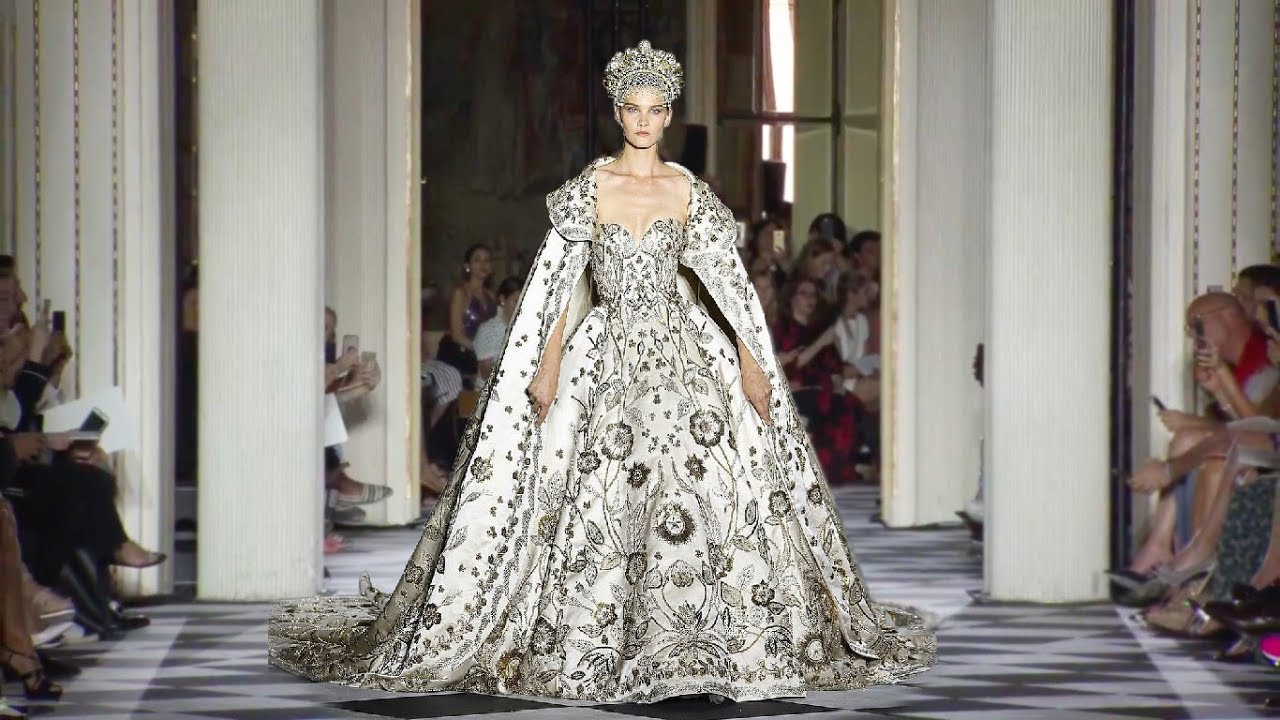 zuhair murad hd haute couture fall winter 2018 19 official