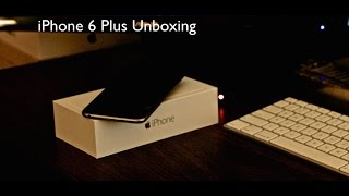 iPhone 6 Plus Space Grey 64GB Unboxing and Setup