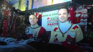 "The Ugly Christmas Sweater Party on The Travel Channel show ""Christmas Crazier"""