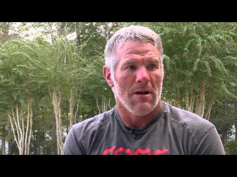 Brett Favre: On the streak and playing through injuries