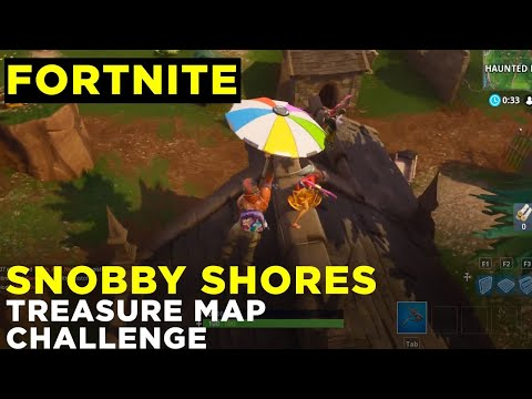 Follow The Treasure Map Found In Snobby Shores - Fortnite Season 5 Challenge Location Guide