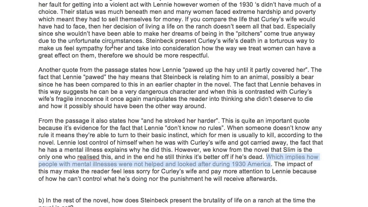 an essay on the death of curley s wife thanks rachel an essay on the death of curley s wife thanks rachel
