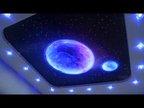 ЭКО ДОМ Звездное небо с планетами