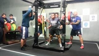 Albert Ozdil squats 270kg x 3 PTC