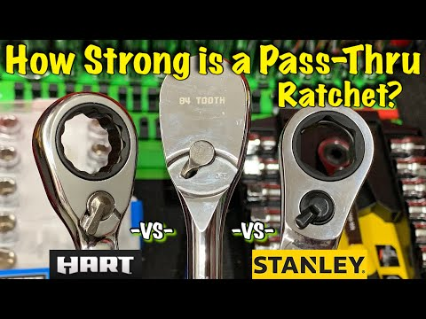 How Strong is a Pass-Thru Ratchet vs Standard Ratchet? Let's Find out