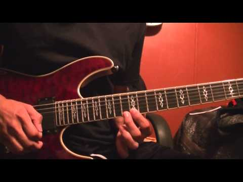 Falling In Reverse- Good Girls Bad Guys guitar solo lesson