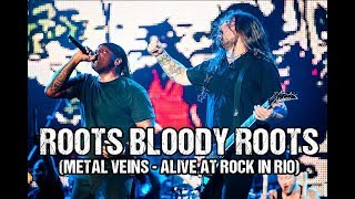 Sepultura feat. Les Tambours du Bronx - Roots Bloody Roots (Metal Veins - Alive at Rock in Rio)