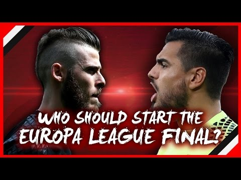 DE GEA OR ROMERO | WHO SHOULD START EUROPA LEAGUE FINAL VS AJAX?