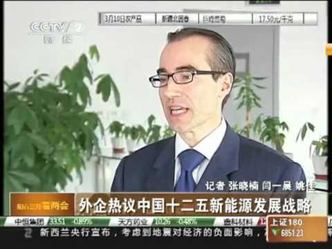 CCTV interviews Barron Partners on Clean Technologies March 11, 2011