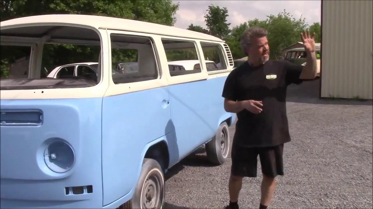 1972 Vw Bus Van Restoration Body Work Complete Now Painted 2 Tone Lastchanceautorestore Com