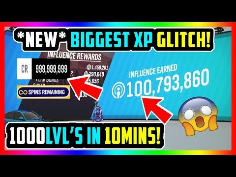 *NEW* BIGGEST XP GLITCH FORZA HORIZON 4 UNLIMITED INFLUENCE + WHEELSPINS (POST PATCH) thumbnail