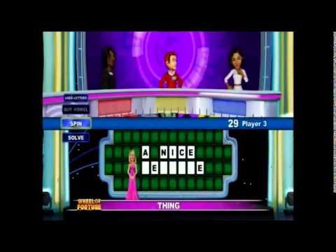 Wii U Wheel Of Fortune Teacher's Week Friday Show