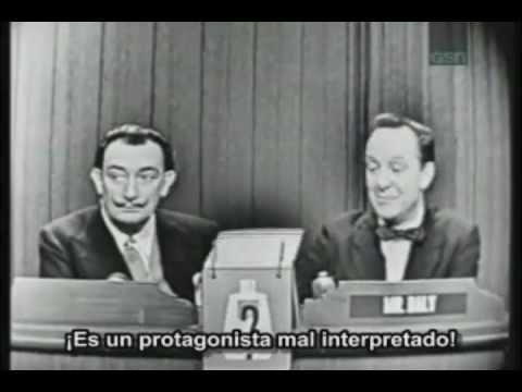 Salvador Dalí   en televisión