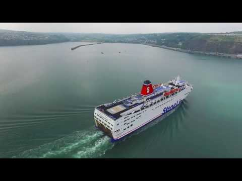 Fishguard Harbour & Stena Europe