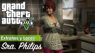 GTA 5 - Sra. Philips y Bienes dañados / Localización de la furgoneta de Deludamol
